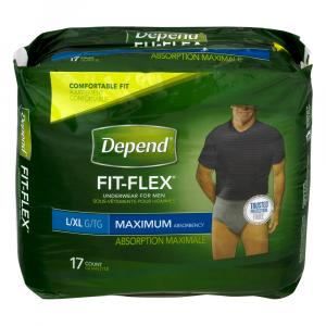 Depend For Men Large/extra Large Underwear