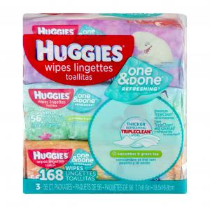 Huggies One & Done Refreshing Rft Bundle