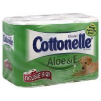 Kleenex Cottonelle Bath Tissue With Aloe And Vitamin E