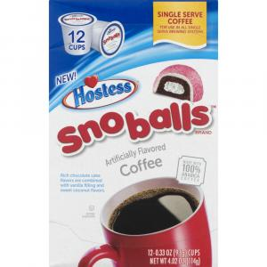 Hostess Snoballs Coffee Single Serve Cups