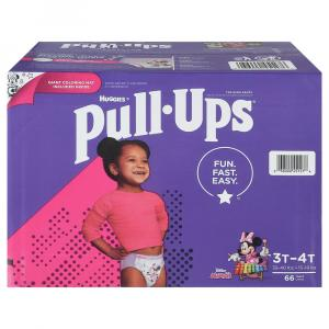 Pull-Ups Learning Designs 3T-4T Girl Diapers