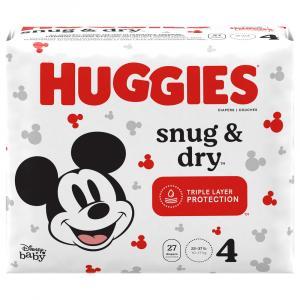 Huggies Snug & Dry Size 4 Jumbo Pack