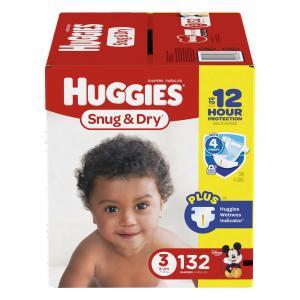Huggies Snug & Dry Step 3 Giant Pack