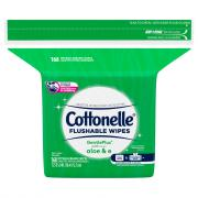 Cottonelle GentlePlus Flushable Wipes Refill Pack