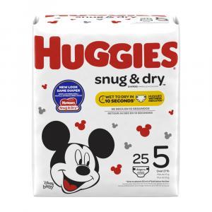 Huggies Snug & Dry Step 5 Jumbo Pack