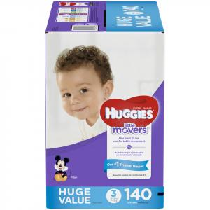 Huggies Little Movers Step 3 Huge Pack