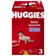 Huggies Little Movers Size 3 Huge Pack Diapers