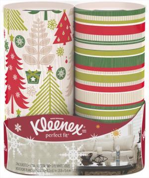 Kleenex Perfect Fit Facial Tissues