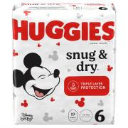 Huggies Snug & Dry Step 6 Jumbo Diapers