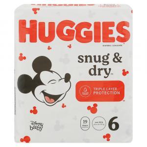 Huggies Snug & Dry Step 6 Jumbo Diapers