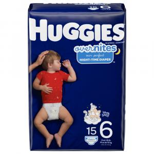Huggies Overnites Step 6 Diapers