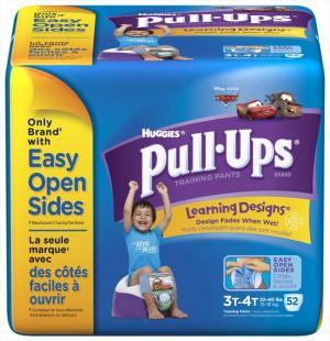 Huggies Pull-ups Boy's Training Pants 3t-4t