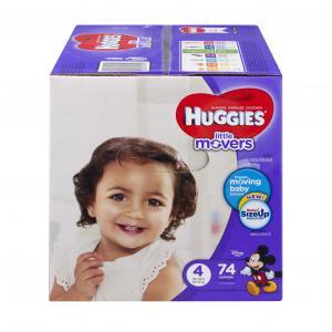 Huggies Little Movers Step 4 Giga Jr
