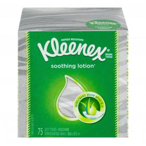 Kleenex Lotion Facial Cube Tissues