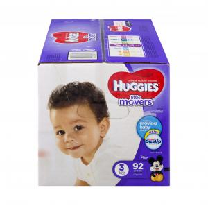 Huggies Little Movers Step 3 Giga Pack