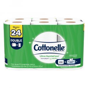 Cottonelle Ultra Gentle Care Double Roll Bath Tissue