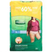 Depend for Women Underwear Maximum Absorbency Extra Large