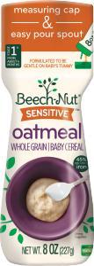 Beech-nut Cereal Sensitive Oatmeal