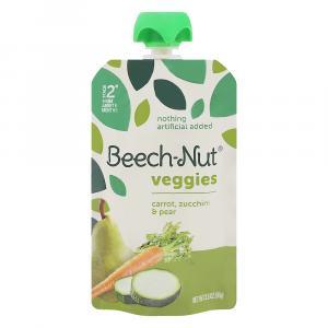 Beech-Nut Veggies On The Go Carrot, Zucchini, & Pear