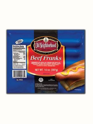 Old Neighborhood Beef Franks