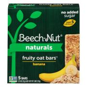 Beech-Nut Fruity Oat Bars Banana