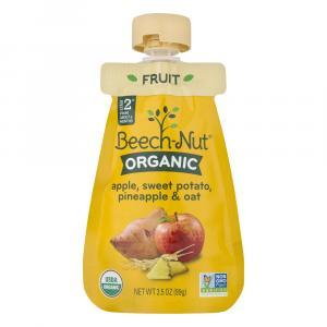 Beech-Nut Organic Apple,Sweet Potato,Pineapple & Oat