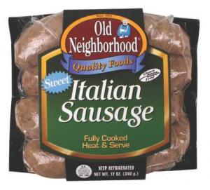 Old Neighborhood Sweet Italian Sausage