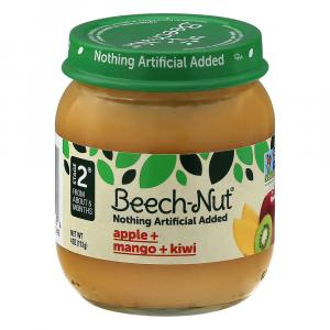 Beech-nut Stage 2 Apples Mangos & Kiwi