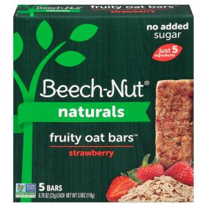 Beech-Nut Fruity Oat Bars Strawberry