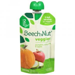 Beech-Nut Veggies On The Go Pumpkin, Zucchini, & Apple
