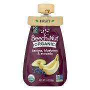 Beech-Nut Organic Banana Blueberry & Avocado Pouch