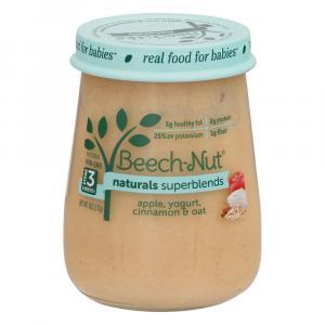 Beech-Nut Stage 3 Natural Superblend Apples, Yogurt, Oats
