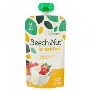 Beech-Nut Breakfast On-The-Go Yogurt, Banana & Mixed Berry