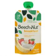 Beech-Nut Breakfast On-The-Go Yogurt, Banana & Strawberry