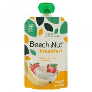 Beech-Nut Breakfast On-The-Go Yogurt, Banana & Strawberry