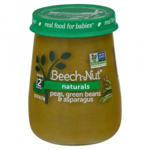 Beech-Nut Stage 2 Peas Beans Asparagus