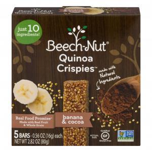 Beech Nut Naturals Quinoa Crispies Banana & Cocoa