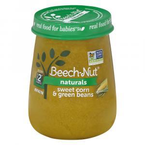 Beech-Nut Stage 2 Sweet Corn Green Beans