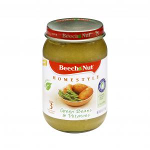 Beech-nut Stg 3 Homestyle Green Beans & Potatoes