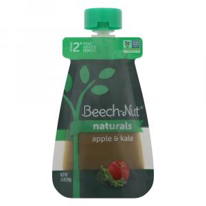 Beech-Nut Naturals Stage 2 Apple & Kale