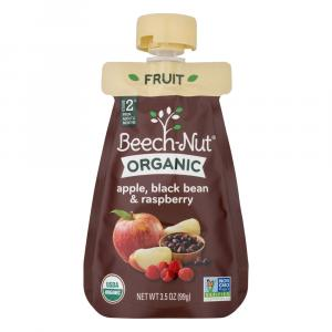 Beech-Nut Organic Apple, Black Bean & Raspberry Pouch