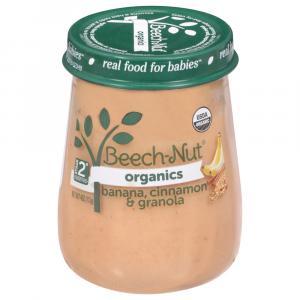 Beech-Nut Just Organic Stage 2 Banana, Cinnamon, and Granola