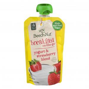 Beech-Nut Breakfast On-The-Go Yogurt & Strawberry