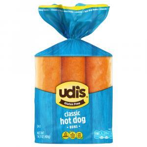 Udi's Gluten Free Classic Hot Dog Buns