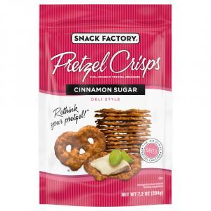 Snack Factory Pretzel Crisps Cinnamon Sugar