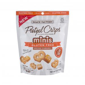 Snack Factory Gluten Free Salted Caramel Pretzel Crisps