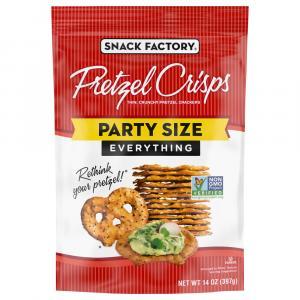 Snack Factory Everything Pretzel Crisps