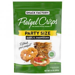 Snack Factory Garlic Parmesan Crisps