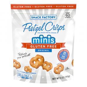 Snack Factory Gluten Free Original Pretzel Crisps