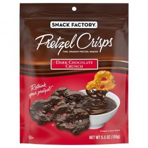 Snack Factory Dark Chocolate Pretzel Crisps